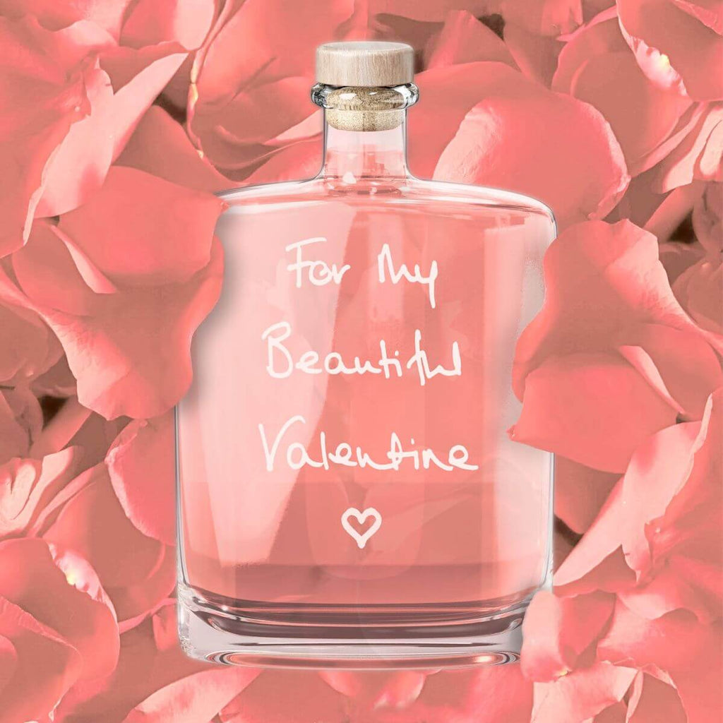Valentine's Day Liqueur Medium Gift Bottle (350ml)
