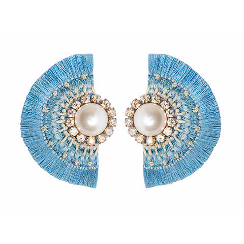ALEAH EARRINGS - BLUE