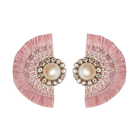 ALEAH EARRINGS - PINK