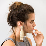 TALEA EARRINGS - CREAM