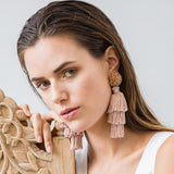 TALEA EARRINGS - PINK