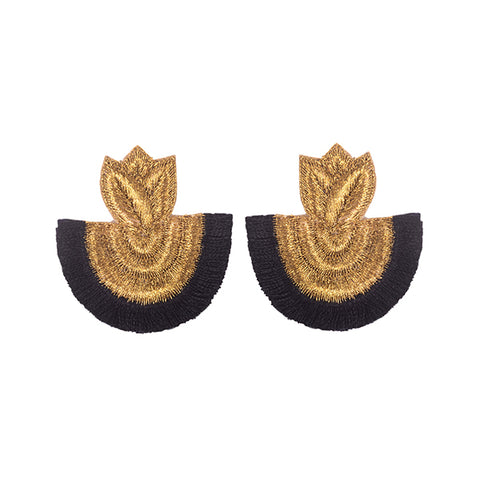 CARISSA EARRINGS - BLACK