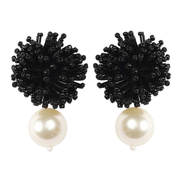 DIANE EARRINGS – BLACK