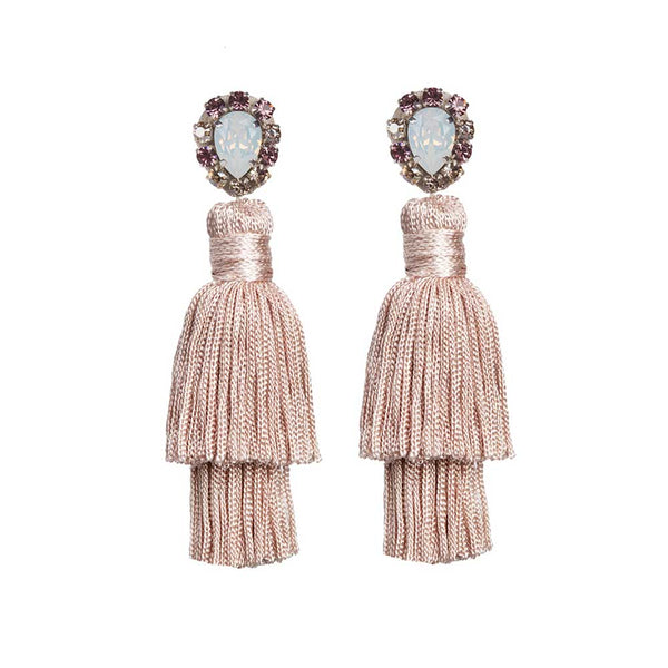 GAIA EARRINGS - PINK