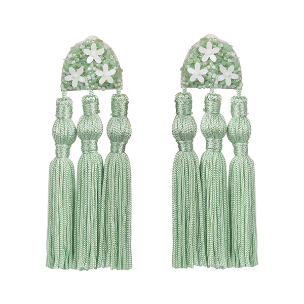 HOLLY EARRINGS - MINT