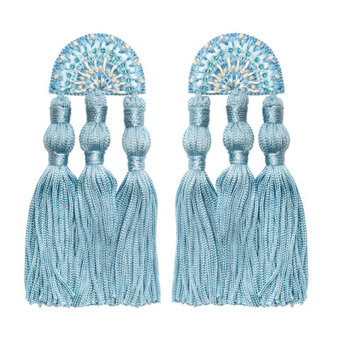 LAYLA EARRINGS - BLUE