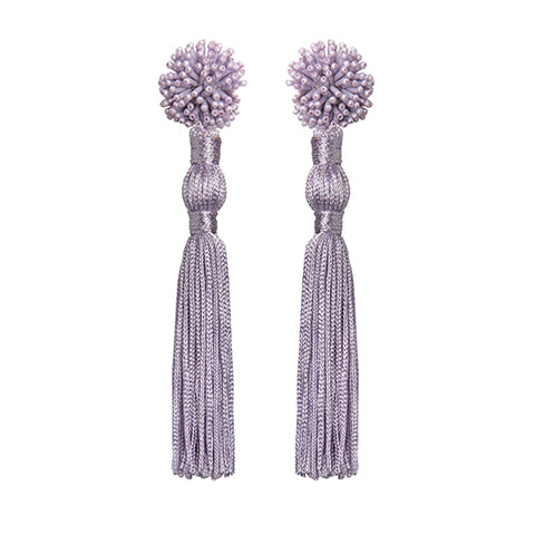 NOUR EARRINGS - LILAC