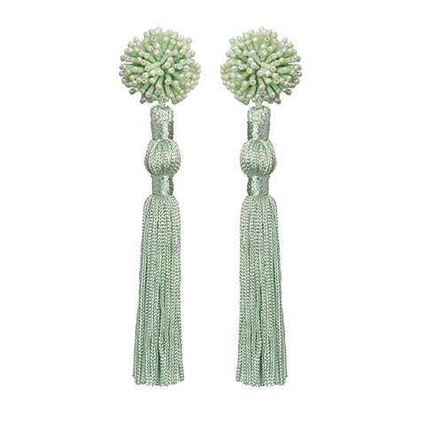 NOUR EARRINGS - MINT