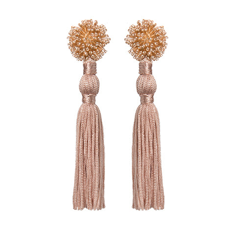 NOUR EARRINGS - PINK