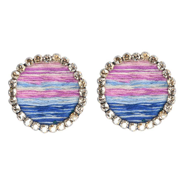 STEVIE EARRINGS – BLUE