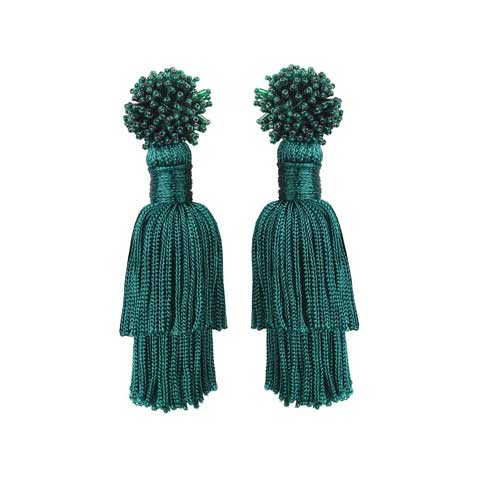 TALEA EARRINGS - EMERALD