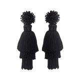 TALEA EARRINGS - BLACK