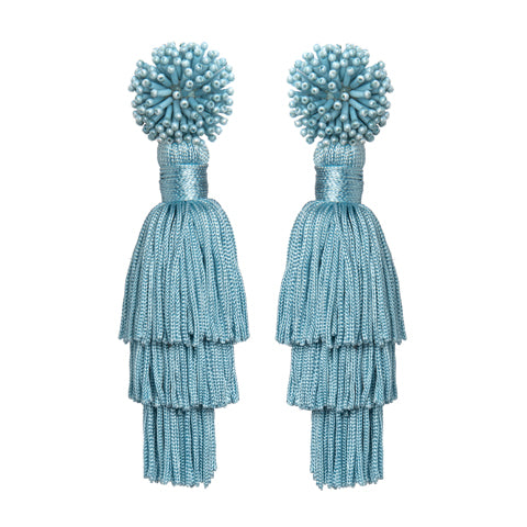 TALEA EARRINGS - BLUE