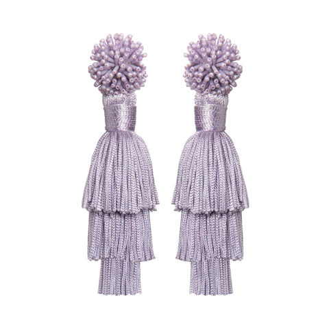 TALEA EARRINGS - LILAC
