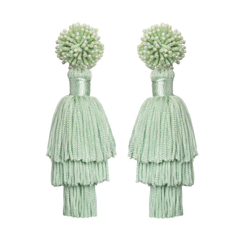 TALEA EARRINGS - MINT