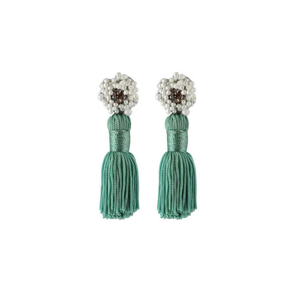 SARAH EARRINGS - MINT