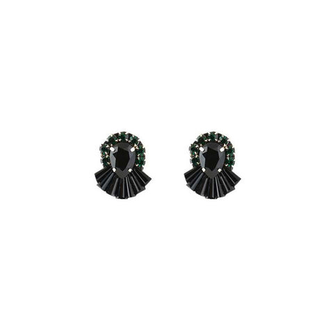 AMARA EARRINGS - BLACK