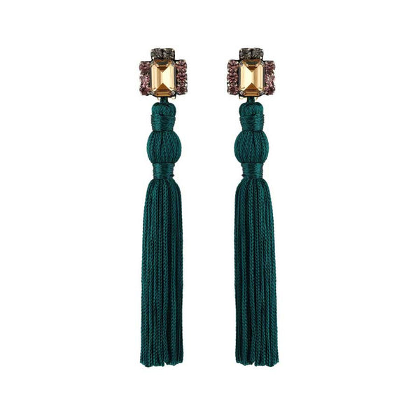 AURATA EARRINGS - EMERALD