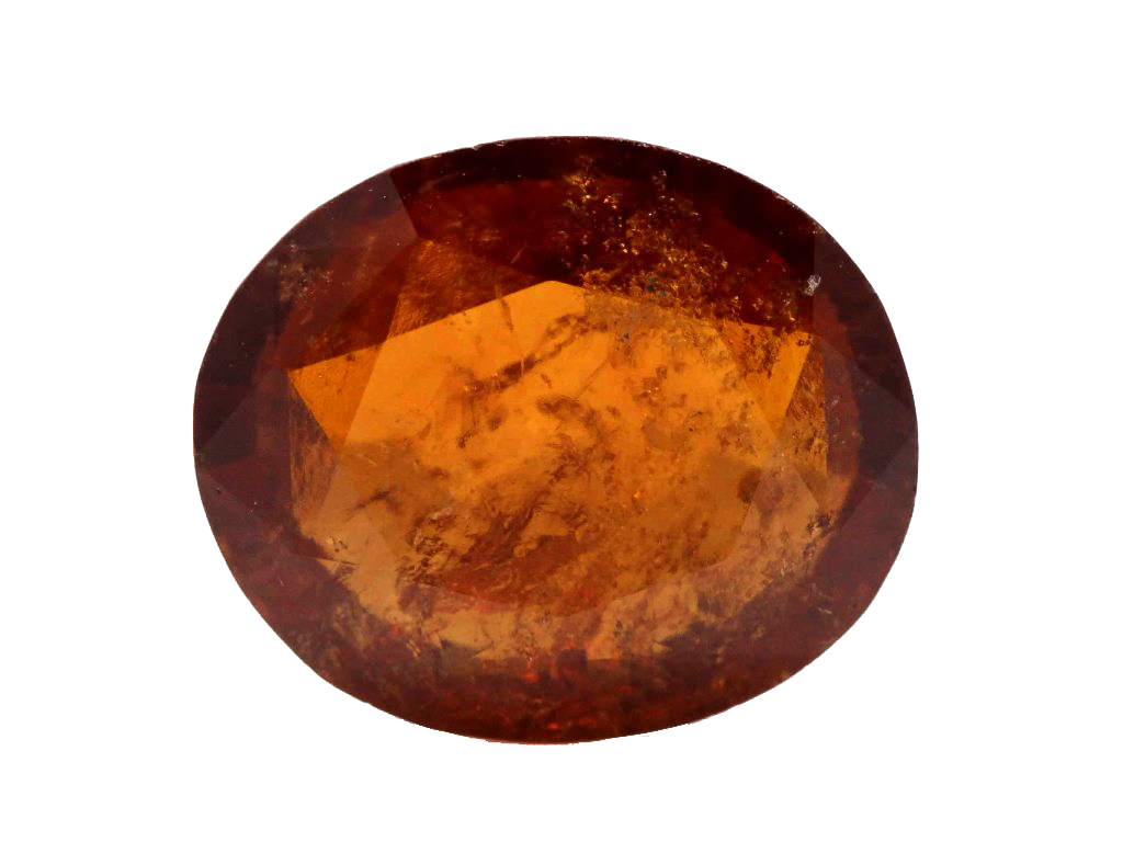 Natural Hessonite Garnet, 9.40 Ct. (10.44 Ratti)