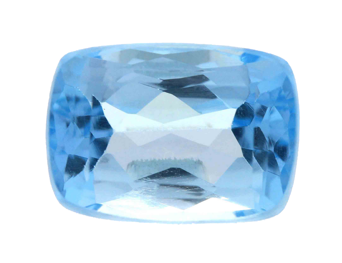 Natural Blue Topaz, 5.50 Ct. (5.61 Ratti)