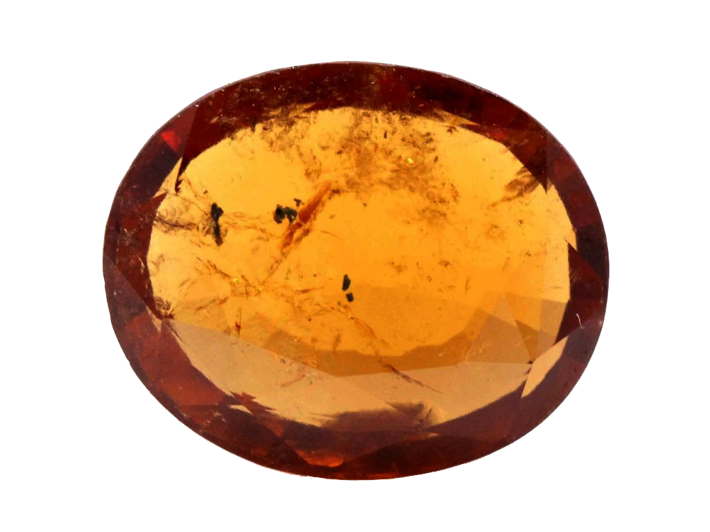 Natural Hessonite Garnet, 6.50 Ct. (7.22 Ratti)