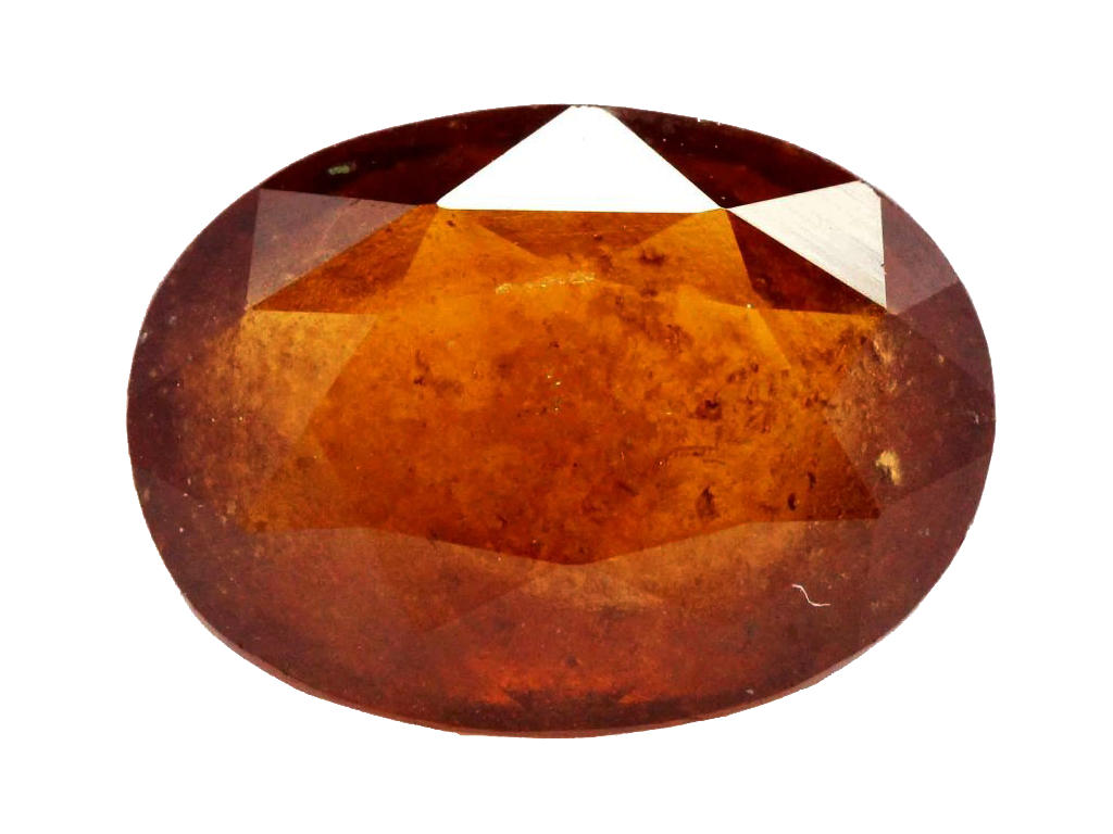 Natural Hessonite Garnet, 7.35 Ct. (8.16 Ratti)