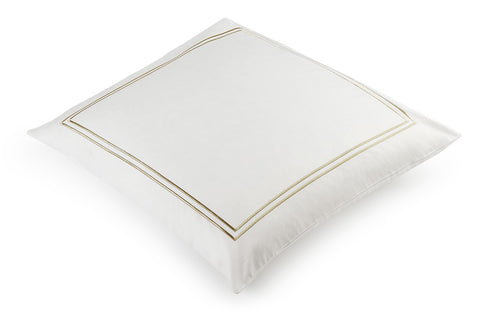Classique Pewter European Pillowcase