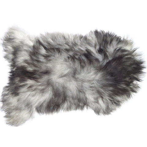 Natural Dark Grey Icelandic Sheepskin