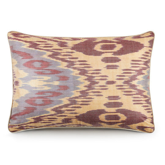 Silk Road Cushion - Grape