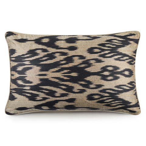 Silk Road Cushion - Iron Sand