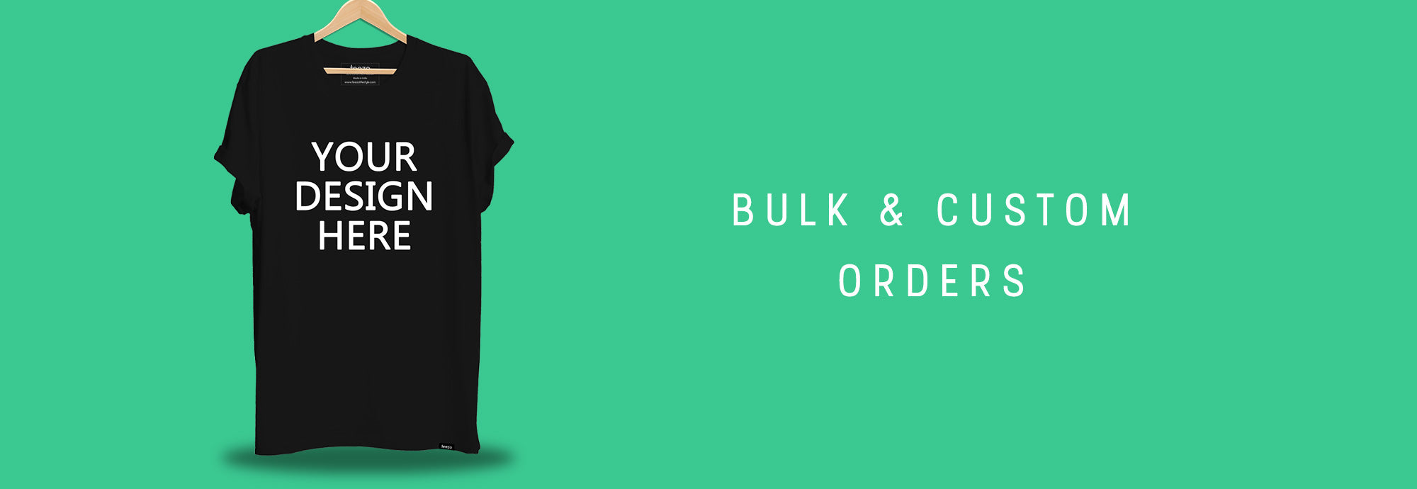 Bulk and Custom Merchandised T-shirts