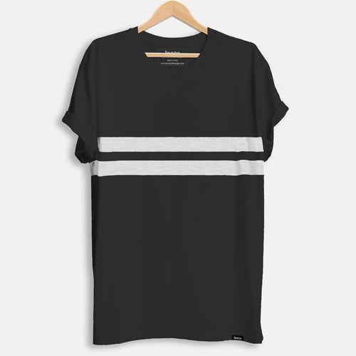 Black Striped Men's T-shirt - Teezo Lifestyle