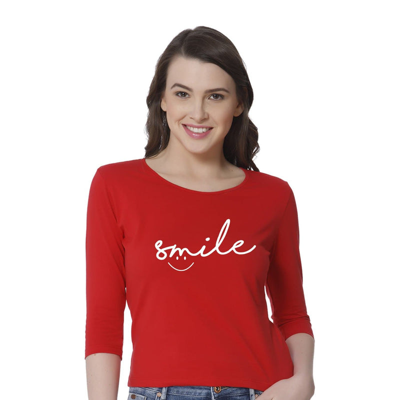 Smile Women's Snip Top - Teezo Lifestyle
