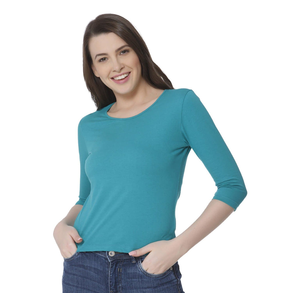 Plain Florida Green Women's Snip Top - Teezo Lifestyle