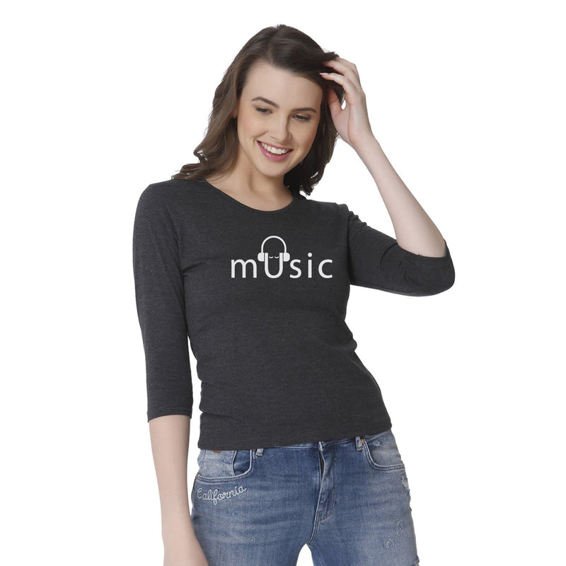 Music Women's Snip Top - Teezo Lifestyle