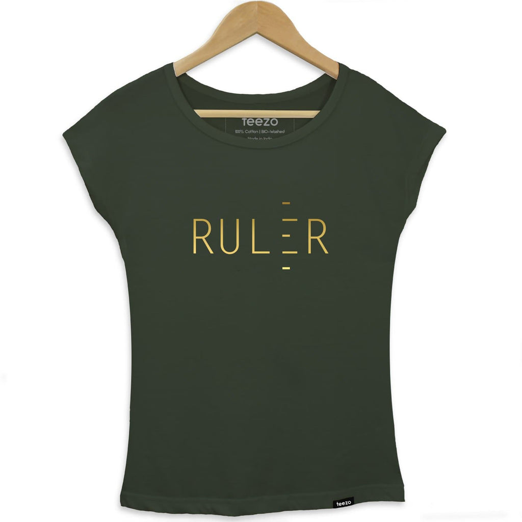 Ruler Women's T-shirt - Teezo Lifestyle