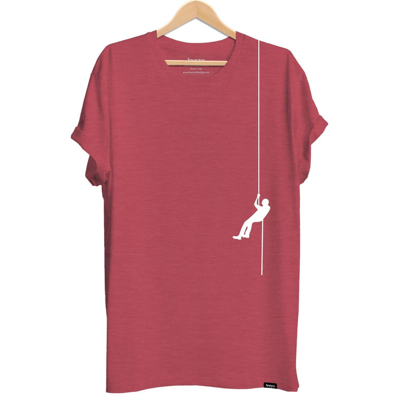 Rappelling Men's T-shirt - Teezo Lifestyle