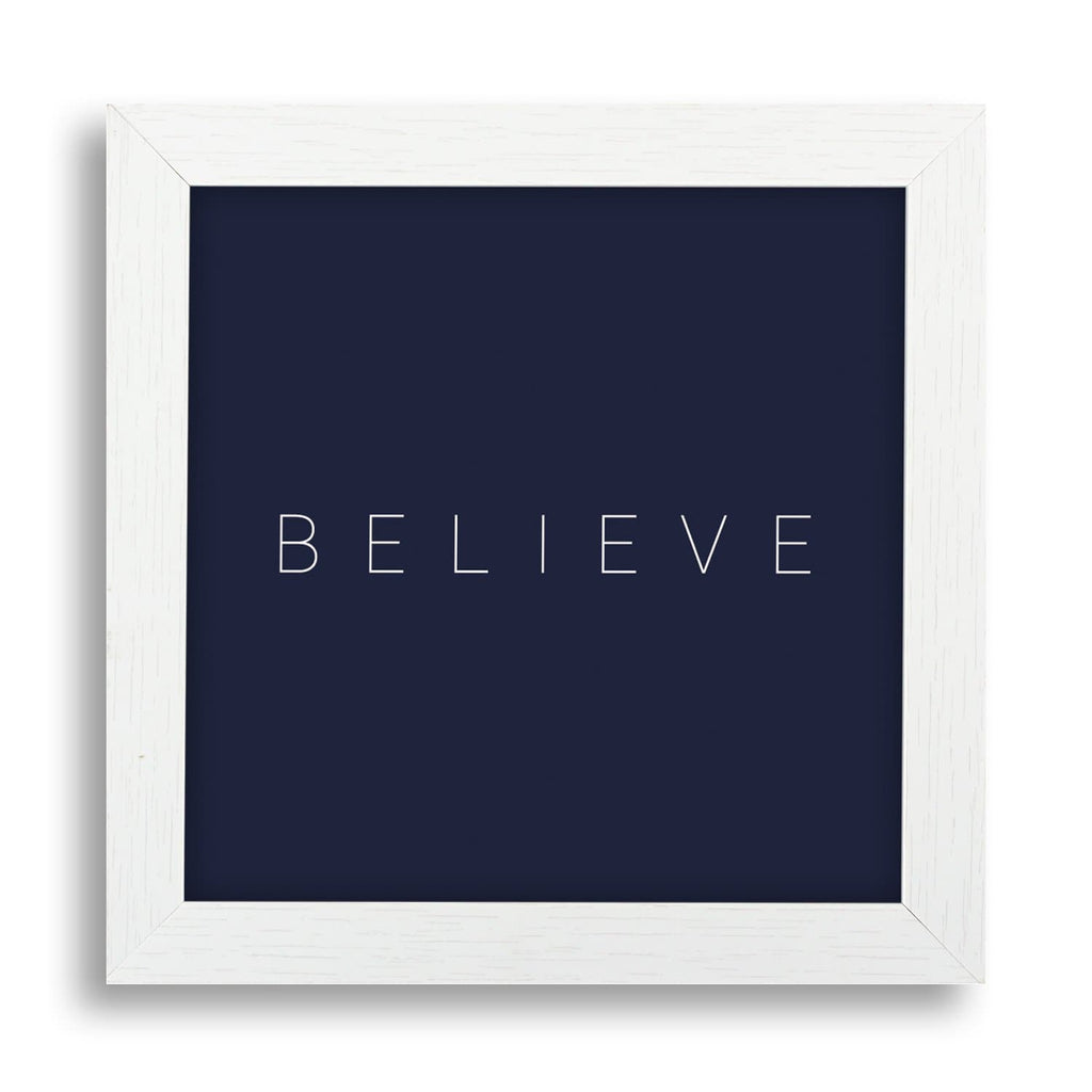 Believe Desk Frame - Teezo Lifestyle