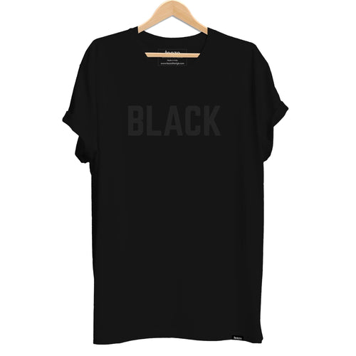 BLACK Men's T-shirt - Teezo Lifestyle