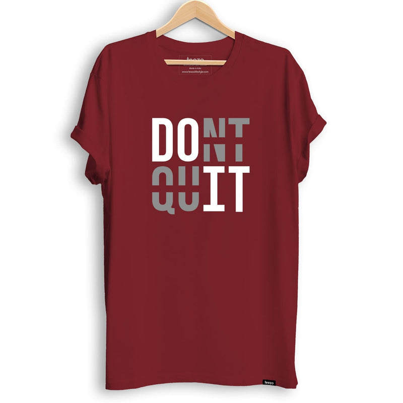 Don't Quit-Do It Men's T-shirt - Teezo Lifestyle