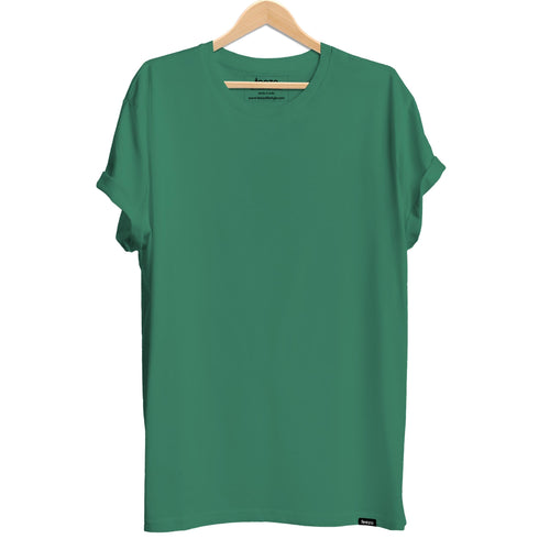 Plain Forest Green Men's T-shirt - Teezo Lifestyle