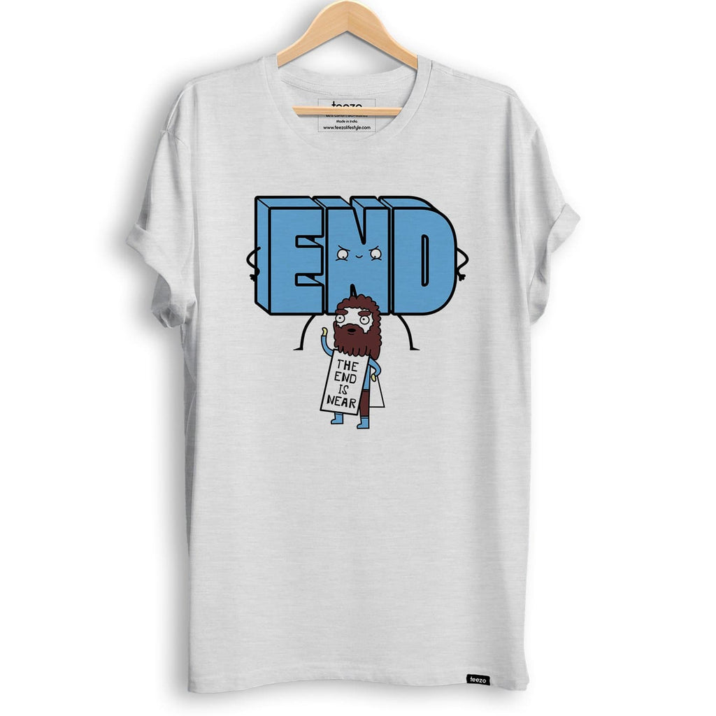 End is Near Men's T-Shirt - Teezo Lifestyle