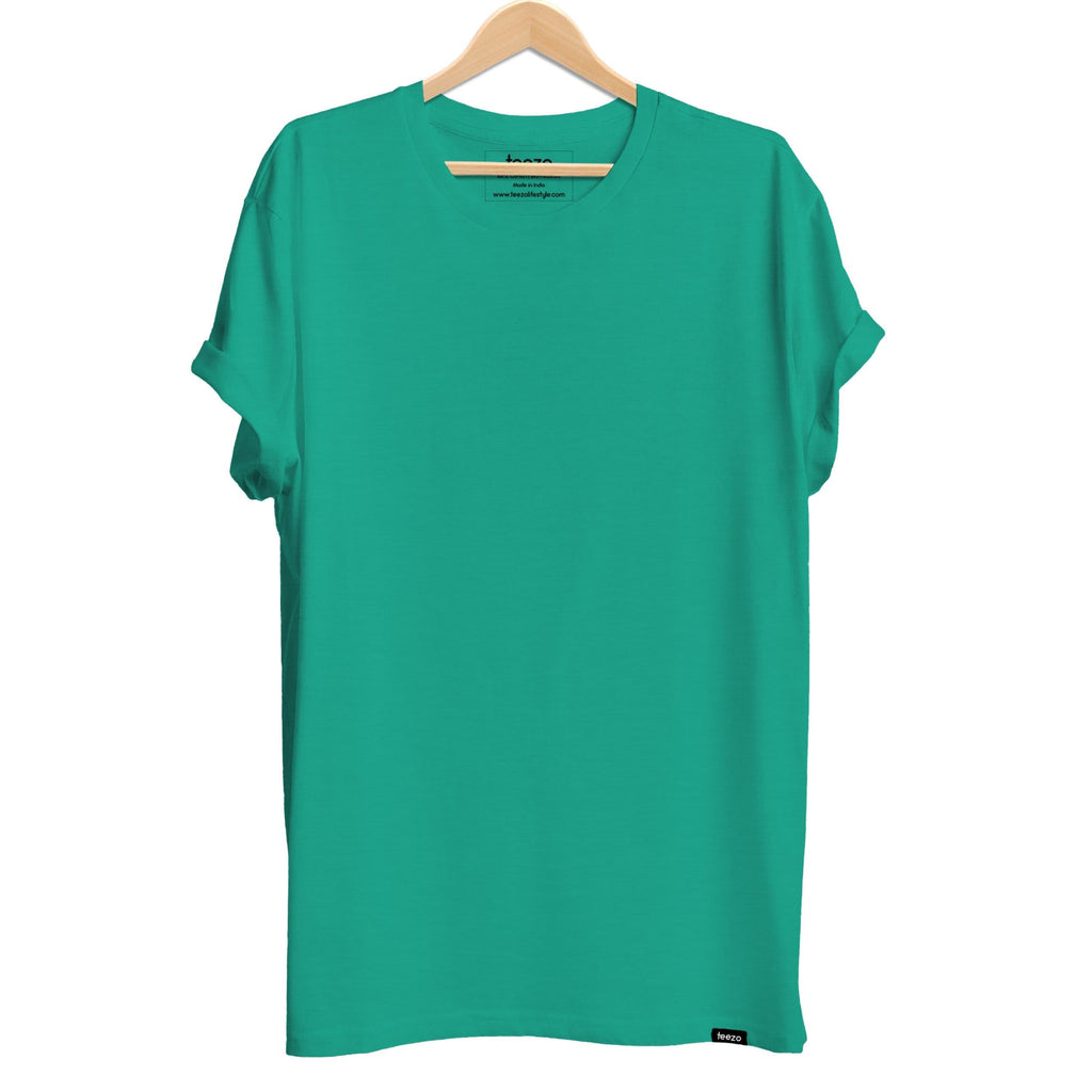 Plain Florida Green Men's T-shirt - Teezo Lifestyle