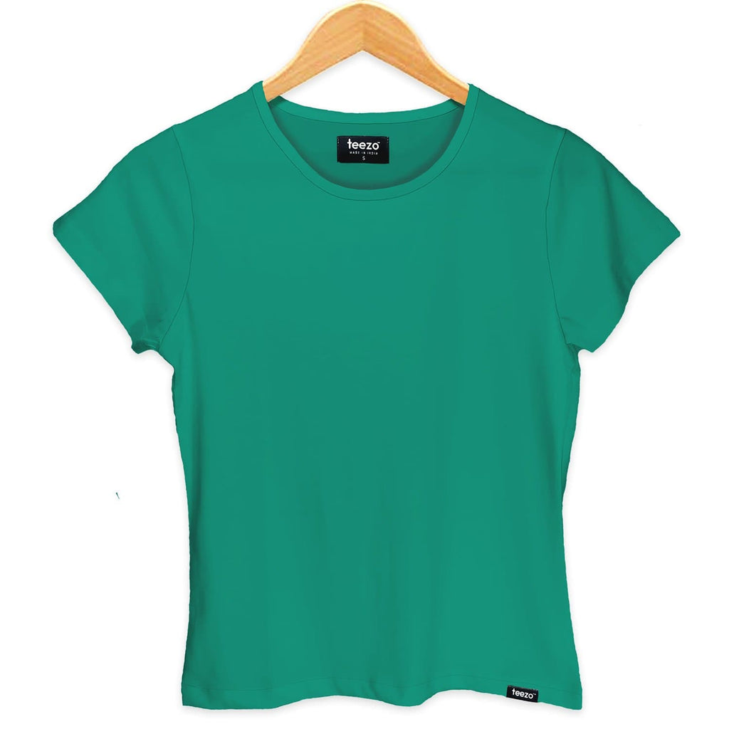 Plain Florida Green Women's T-shirt - Teezo Lifestyle