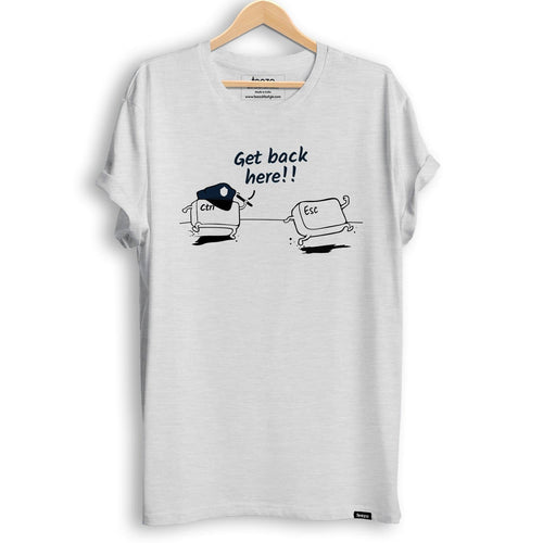 Get Back Here Men's T-Shirt - Teezo Lifestyle