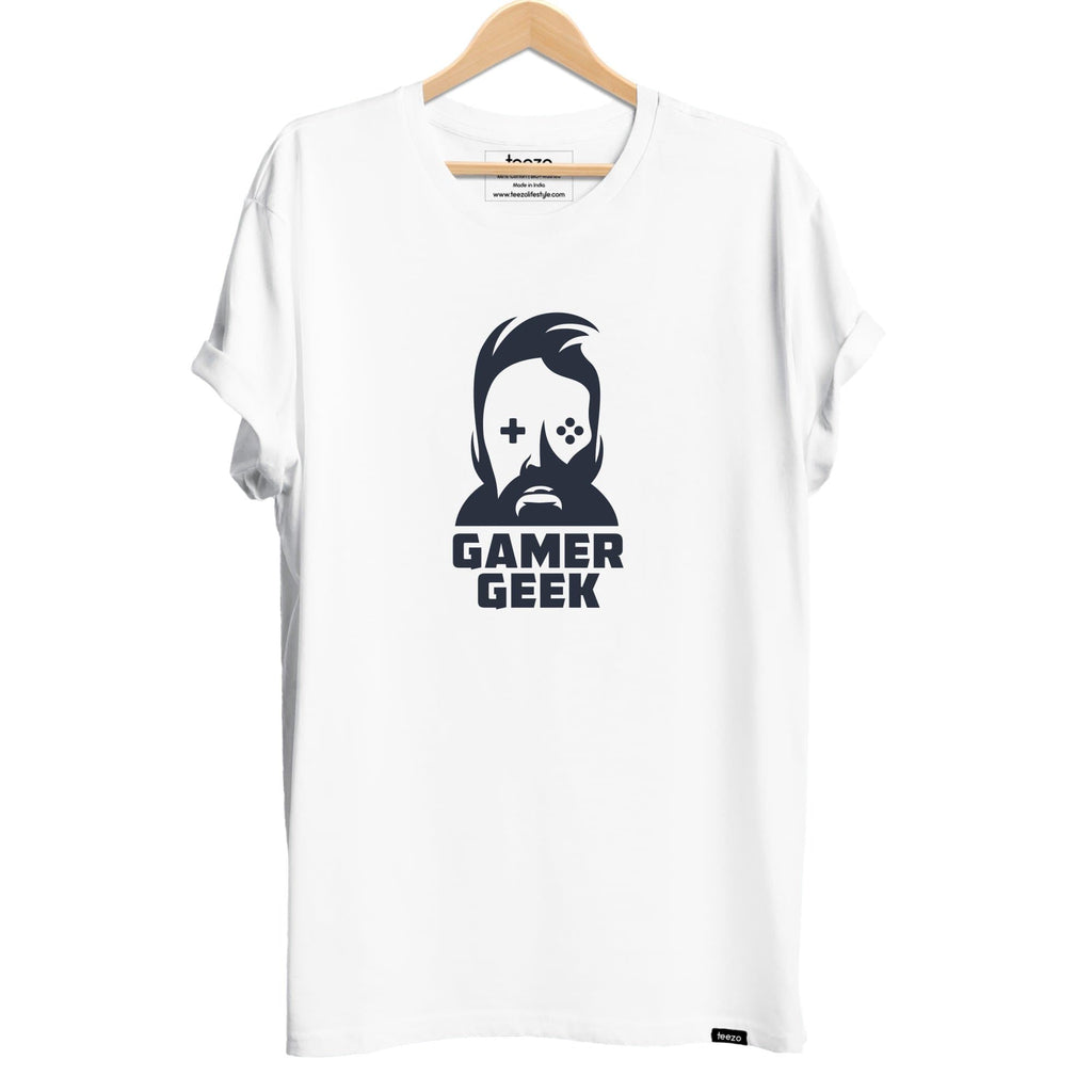 Gamer Geek Men's T-shirt - Teezo Lifestyle