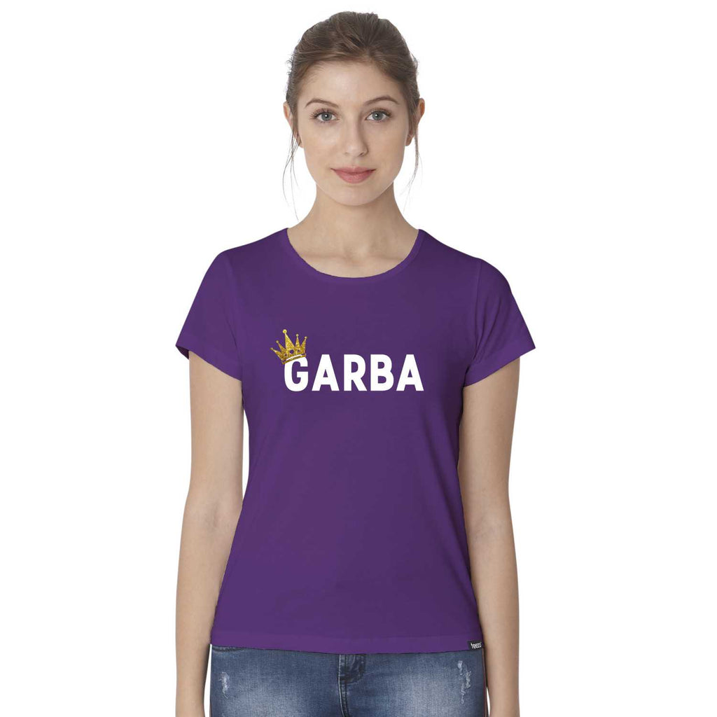 Garba Queen Women's Gujarati T-Shirt - Teezo Lifestyle