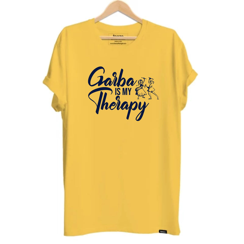 Garba is my Therapy Gujarati Unisex T-shirt - Teezo Lifestyle