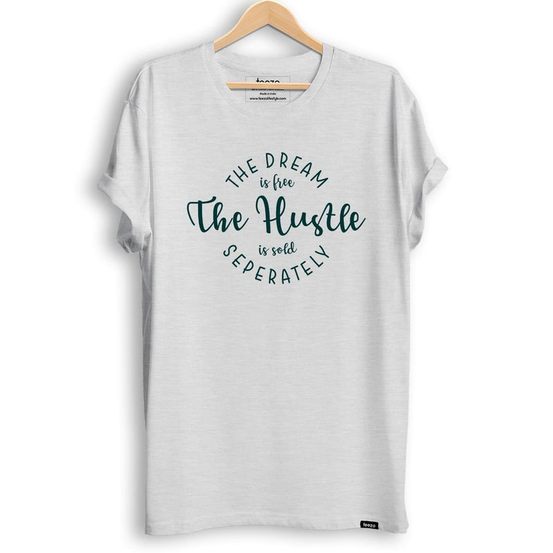 Dream is Free Hustle is Sold Seperately Men's T-Shirt - Teezo Lifestyle