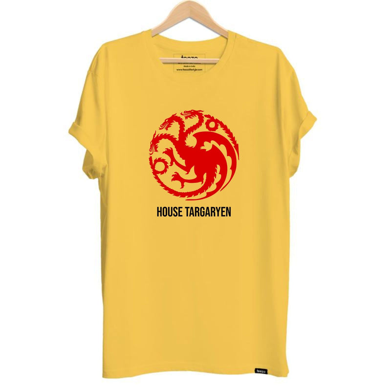 Game Of Thrones-House Targaryen Unisex T-shirt - Teezo Lifestyle